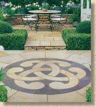 Circular Patio Kit by Pavingexpert Installing A Decorative Circular Patio Feature