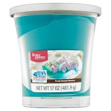 better homes and gardens fresh ocean flowers candle 17 oz