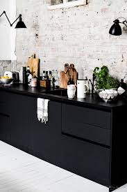 Black Kitchen Cabinets What Color On Wall Best 25 Black Kitchen Cabinets Ideas On Pinterest Gold Kitchen