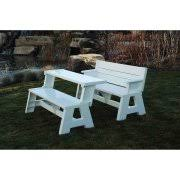 Convert A Bench Outdoor Bench And Picnic Table Walmart Com