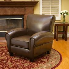 Large Arm Chair Design Ideas Small Leather Armchair With Large Carpet Nytexas