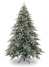 christmas tree artificial 9ft snowy concolor fir artificial christmas tree garden world