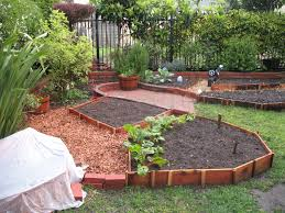Backyard Planter Ideas Garden Design Garden Design With Backyard Gardens With