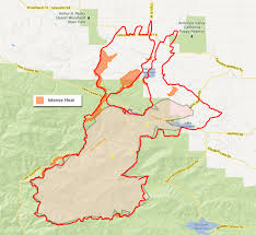 Elizabeth Colorado Map by Scvnews Com Day 5 Fire Now 32 000 Acres 60 Contained 06 03 2013
