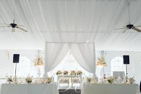 ceiling draping draping wedding decor toronto a clingen wedding event