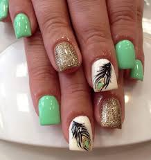 40 feather nail art ideas nenuno creative