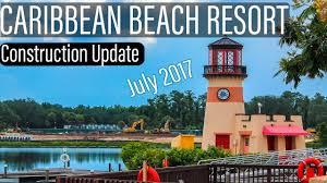 Disney Caribbean Beach Resort Map by Disney U0027s Caribbean Beach Resort Construction Update July 2017