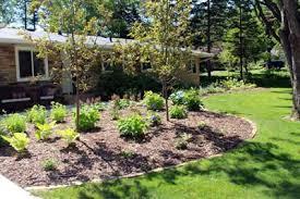 Landscape Mounds Front Yard - minneapolis landscape design lawn care u0026 mowing service st paul