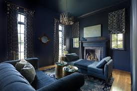 blue living room rugs dark blue living room with blue linen chaise lounge contemporary