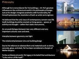 zaha hadid philosophy i m pei national gallery of art the archi blog