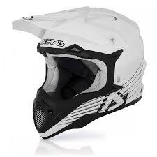 white motocross helmet acerbis auxiliary fuel tank acerbis impact motocross helmet white