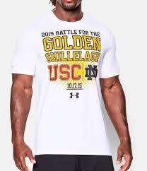 Notre Dame Infant Clothes Men U0027s Notre Dame Vs Usc T Shirt Under Armour Us