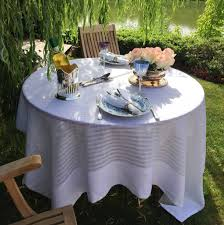 modern table linen french country tablecloth style luxury linen for table