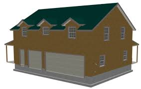 g445 plans 40 x30 x 10 garage with bonus apartment plan free apartment garage plans