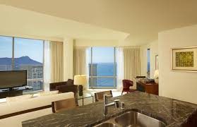 trump living room waikiki hotel suites trump hotel waikiki two bedroom prime