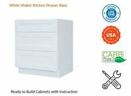 36 inch kitchen base cabinets with drawers white shaker kitchen drawer base cabinet ebay