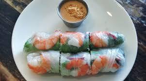 rice paper wrap shrimp and mango summer rolls the splendid table