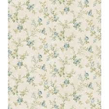 Block Print Wallpaper Chesapeake Belle Jardin Sky Block Print Wallpaper Sample
