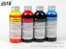 edible ink for epson series food photo printer buy food coloring
