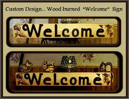 buy a made house signs wood burned signs indoor outdoor signs