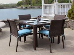 Wicker Outdoor Dining Sets For Luxury House Garden Furniture Design - Stylish dining table with wicker chairs house