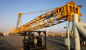 crawler crane pontoon ideal for use with a mobile crane