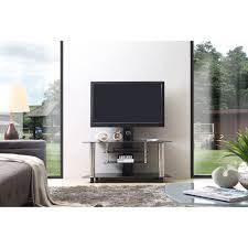 Bell O Triple Play Tv Stand Bello Triple Play 52 In Universal Flat Panel Tv Stand Dark