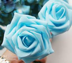 light blue flowers buy cheap newest handing bouquets light blue in wedding decor