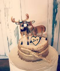 buck and doe wedding cake topper buck and doe wedding cake topper deer wedding cake topper