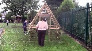 viking longhouse build youtube