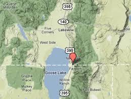map of oregon nevada new pine creek oregon gold