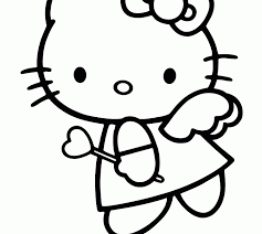 kitty valentines coloring pages coloring beach