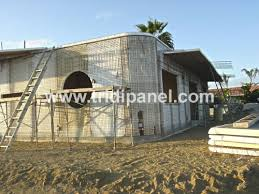 how to build a low cost foam cement home with diy scip panels