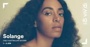 solange a seat at the table album vivid sydney on twitter solangeknowles will be performing at