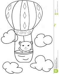 air balloons coloring sheets alltoys for