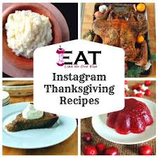 an instagram thanksgiving eat like no one else