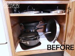 kitchen storage ideas for pots and pans diy knock organization for pots pans how to organize your