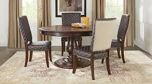 60 dining room table victory road 60 in brown 5 pc dining room dining room sets dark wood