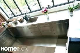 cuisine ikea inox plaque aluminium cuisine armoire de cuisine en aluminium plaque alu