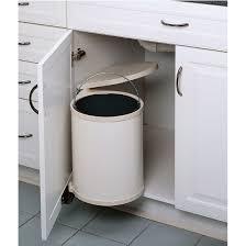 kitchen cabinet waste bins pull out built in trash cans cabinet slide out under sink