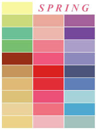 spring color palette inspiration for and home decor