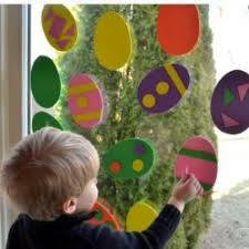 Easter Decorations For Window by 42 Of The Simplest Easter Crafts For Toddlers
