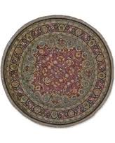 Feizy Rugs Slash Prices On Feizy 7165f Compass Area Rug Plum Gold