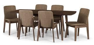Esszimmertisch Zum Ausziehen Scanmod Design Essgruppe Tahquitz Mit Ausziehbarem Tisch Und 6