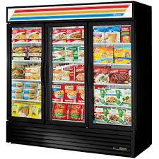 glass door chest freezer true gdm 72f hc tsl01 78