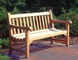Free Wood Bench Plans by Park Bench Plans Treenovation