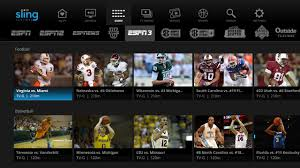 Sling Tv Logo Png Sling Tv To Add Espn3 Into Channel Guide A First For The Pay Tv