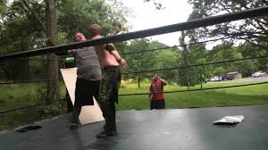 mxw backyard wrestling music video daniel rayne vs keith wylde
