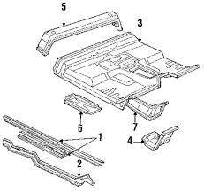 jeep front drawing browse a sub category to buy parts from this is not a real site