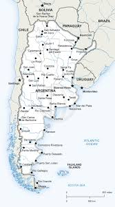 Blank Map Of Usa Pdf by Map Of Argentina Political Argentina South America Continent